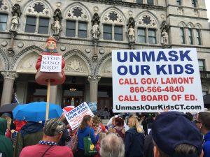 Anti Lamont Rally